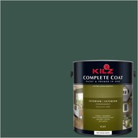 Deep Spruce, KILZ COMPLETE COAT Interior/Exterior Paint & Primer in One, #RG290-02