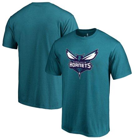 Charlotte Hornets Primary Logo T-Shirt - Teal