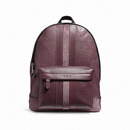 Coach - NEW MENS (F11250) CHARLES BASEBALL STITCH LEATHER OXBLOOD BACKPACK  BAG - Walmart.com 223a48002