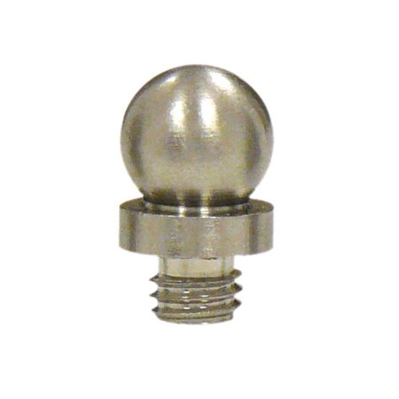 Deltana DSBT Satin Nickel Decorative Solid Brass Decorative Ball Tip Finial For Deltana Bronze Ball Tip