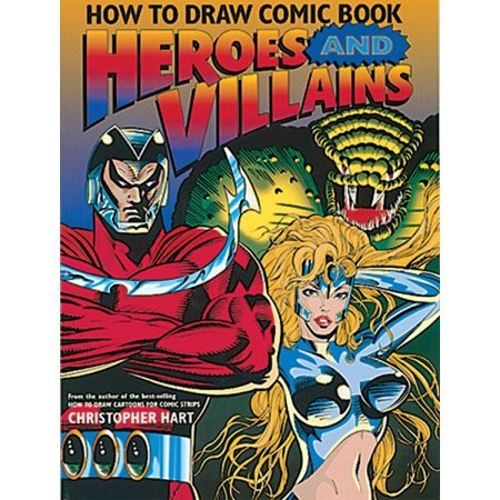 How to Draw Comic Book Heroes and - Female Comic Villains