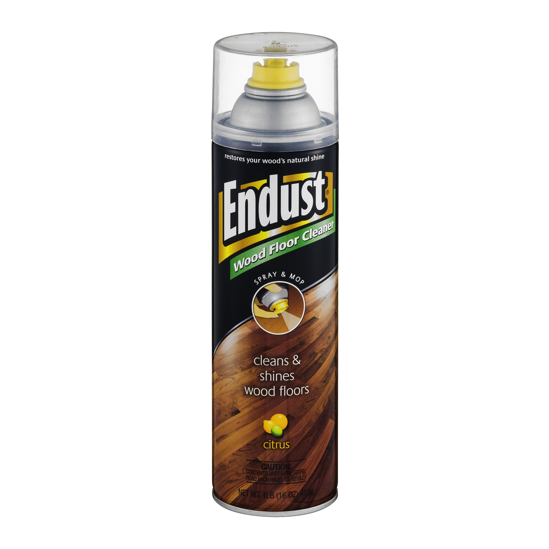 Endust Citrus Wood Floor Cleaner, 16 Oz