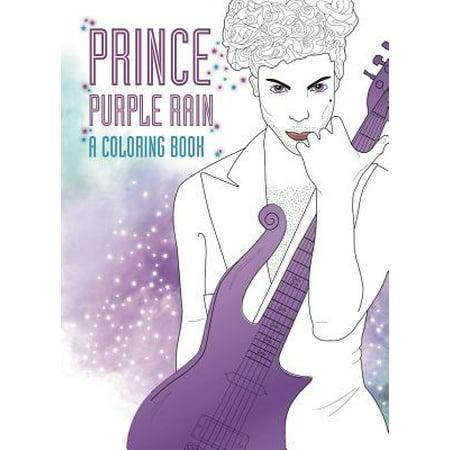 Prince : Purple Rain: A Coloring Book