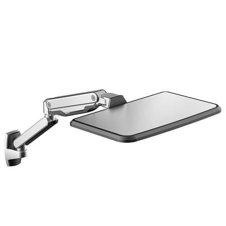 Loctek WS2L Sit Stand Workstation Height Adjustment Ergonomic Laptop Wall Mount Arm for 10