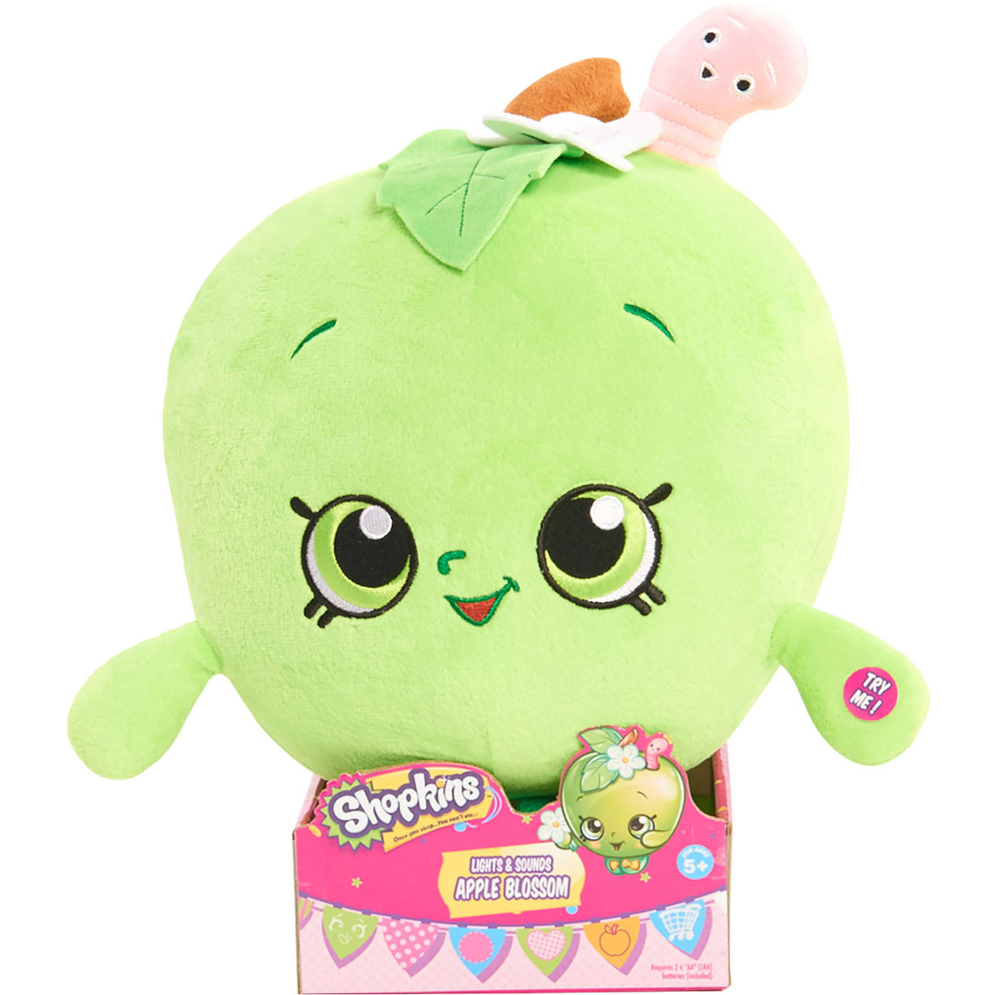 "Shopkins Feature 10"" Apple Blossom Plush"