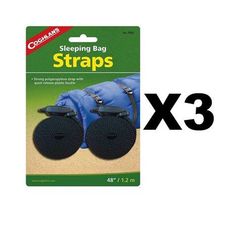 Coghlan's Sleeping Bag Straps w/Tab Release Buckle 3/4