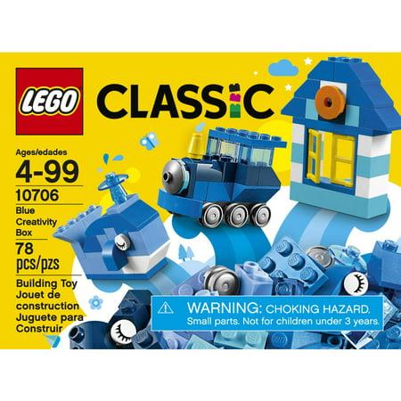 Best LEGO¨ Classic Blue Creativity Box 10706 deal
