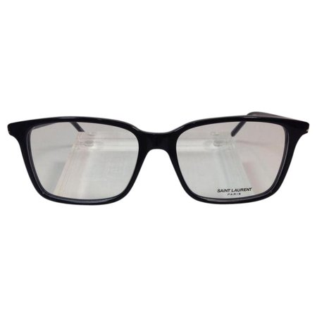 ae4d4a54340bec Saint Laurent SL 46 001 Black Plastic Eyeglasses 54mm - Walmart.com
