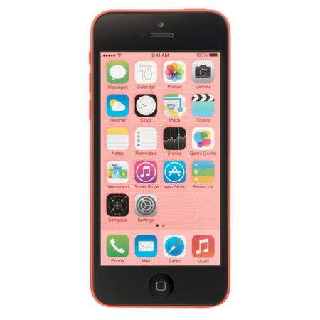 Apple iPhone 5c 16GB Unlocked GSM Phone w/ 8MP Camera - Pink (Certified Refurbished)](iphone 5c deals unlocked)