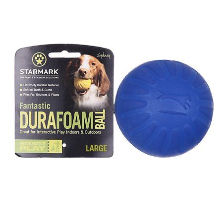 Starmark Fantastic DuraFoam Ball, Large, Assorted Fantastic Ferret Ball