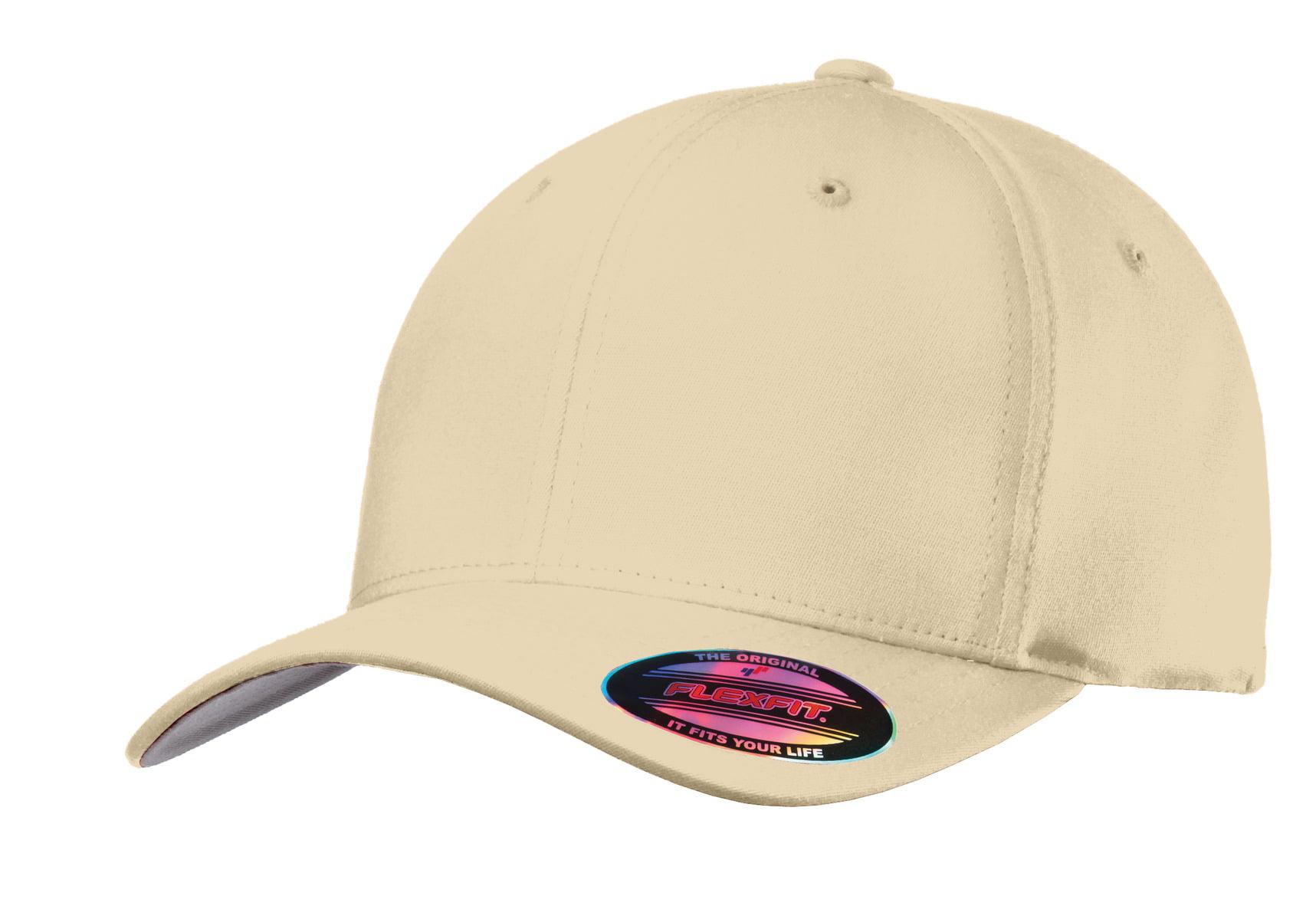 Port Authority® Flexfit® Cotton Twill Cap. C813 Stone L Xl 657d0a46fed1