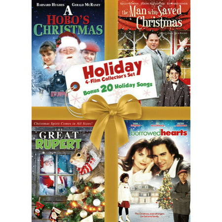 Holiday Collection Set - Volume 12: The Man Who Saved Christmas / Borrowed Hearts / A Hobo's Christmas / The Great