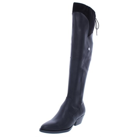 Guess Womens Vianne 2 Faux Leather Almond Toe Over-The-Knee (Guess Ladies Boots)