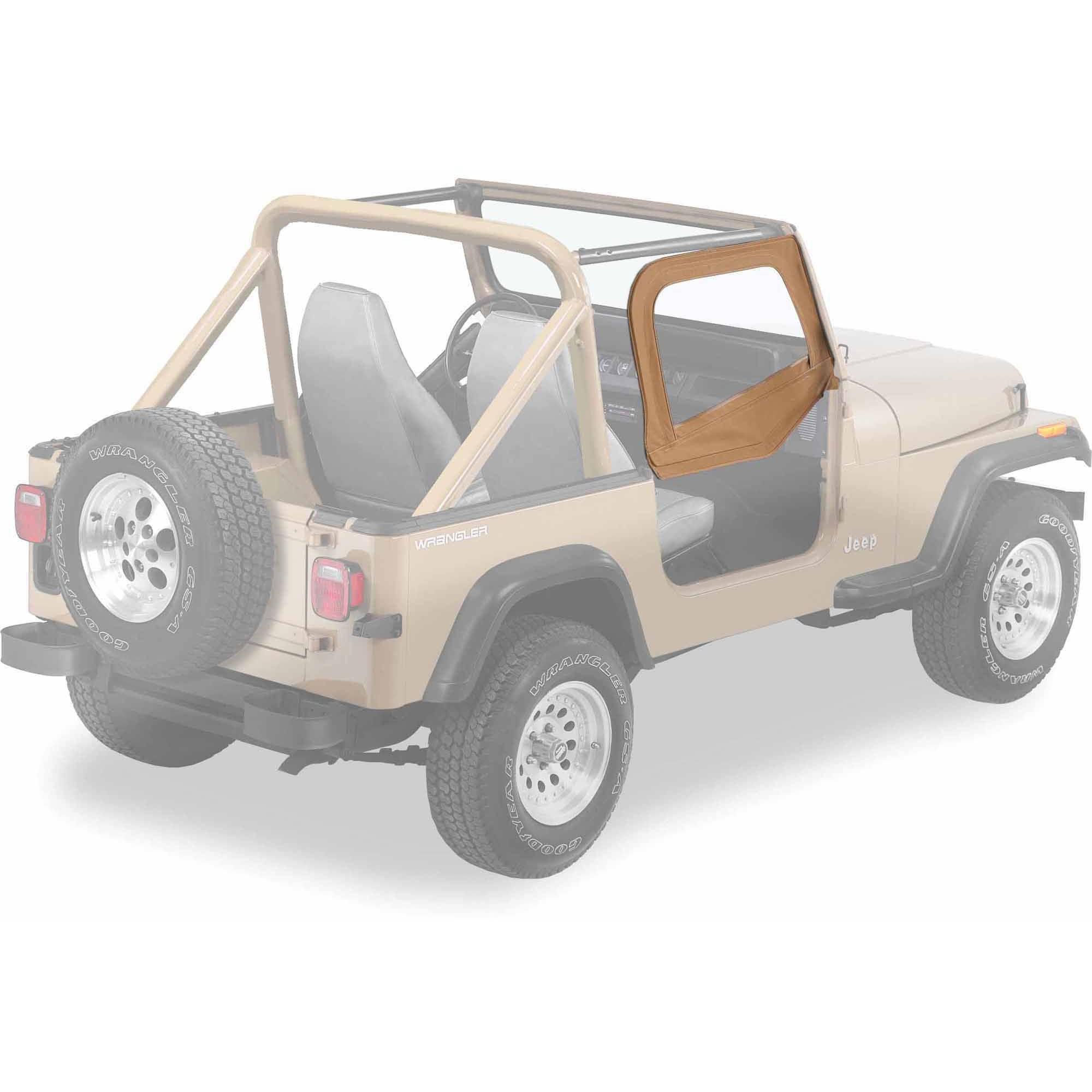 Bestop 53120-37 Jeep Wrangler Upper-Door Skins Set, Spice