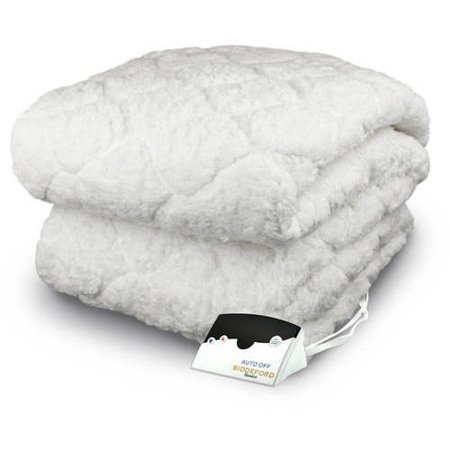 Biddeford Electric Heated Sherpa, Quilted Mattress Pad ...