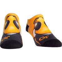 GA Tech Yellow Jackets Rock Em Socks Mascot Low Ankle Socks
