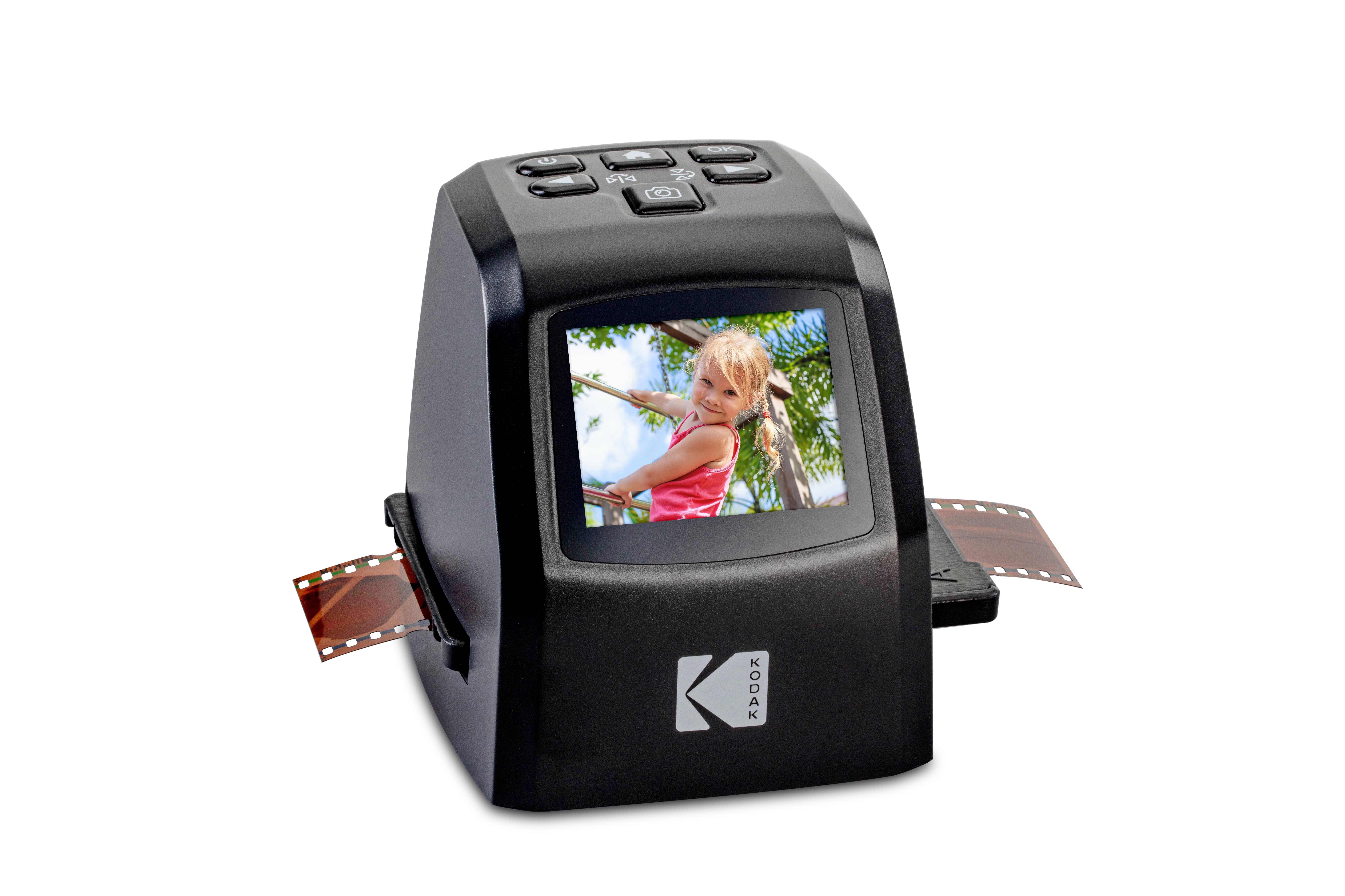 KODAK Mini Digital Film & Slide Scanner – Converts 35mm, 126, 110, Super 8  & 8mm Film Negatives & Slides to 22 Megapixel JPEG Images – Includes -