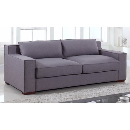 Groovy Ultra Comfortable Linen Fabric Wide Track Arm Large Capri Style Sofa Gmtry Best Dining Table And Chair Ideas Images Gmtryco