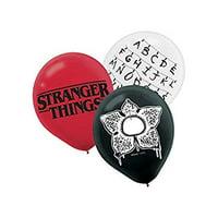 amscan Stranger Things Printed Latex Balloons