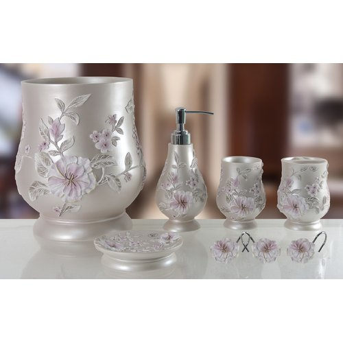 Daniels Bath Decorative Melrose 5 Piece Bathroom Accessory Set by