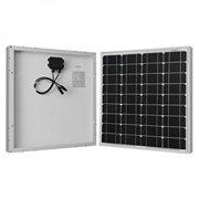 50W Watts Solar Panel Monocrystalline Off Grid 12V RV Marine Boat Battery Charge