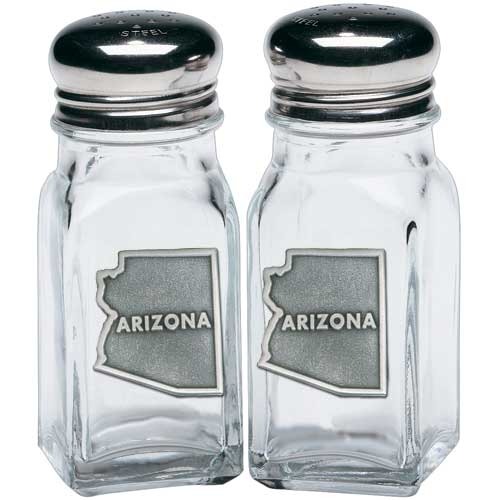 Arizona State Map Salt & Pepper Shakers