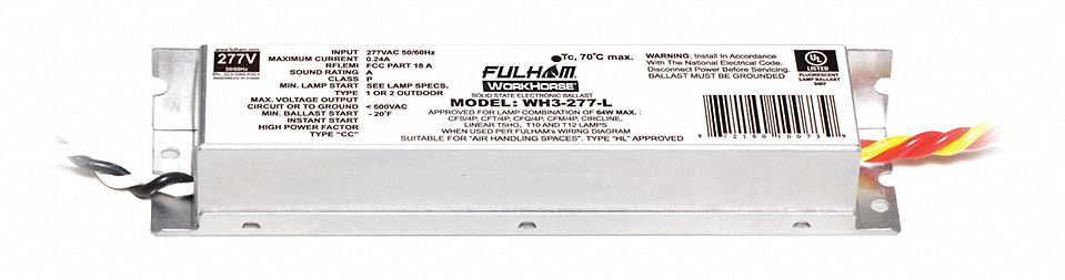 Fulham 10178 WH11-120-L Fulham WorkHorse 1 Ballast