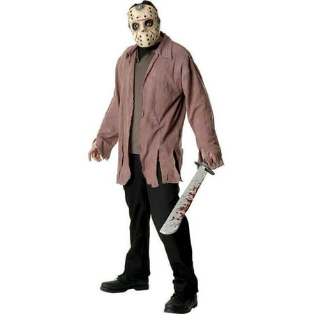 Friday The 13th Jason Voorhees Adult (Jason For Halloween)