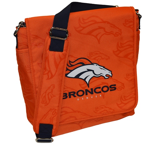 NFL Diaper Bag by Lil Fan, Messenger Style - Denver Broncos