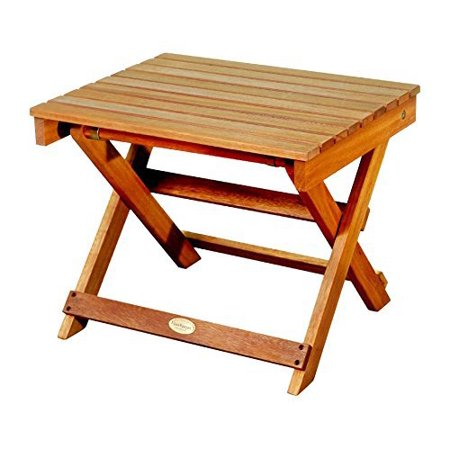 Luunguyen outdoor hardwood folding side table natural for Table 6a of gstr 1