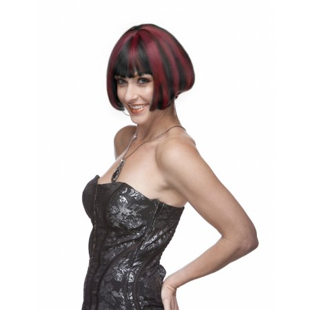 Sepia Costume Eve Synthetic Wig P1B.Burgundy (Eve Costume Ideas)