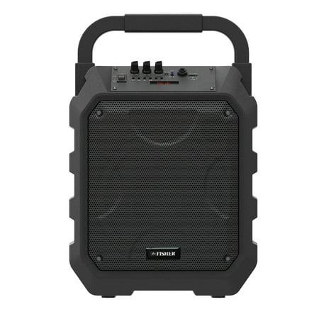 Fisher FBX490K ROCK'N BEATS 480-Watt Portable Bluetooth Speaker ()