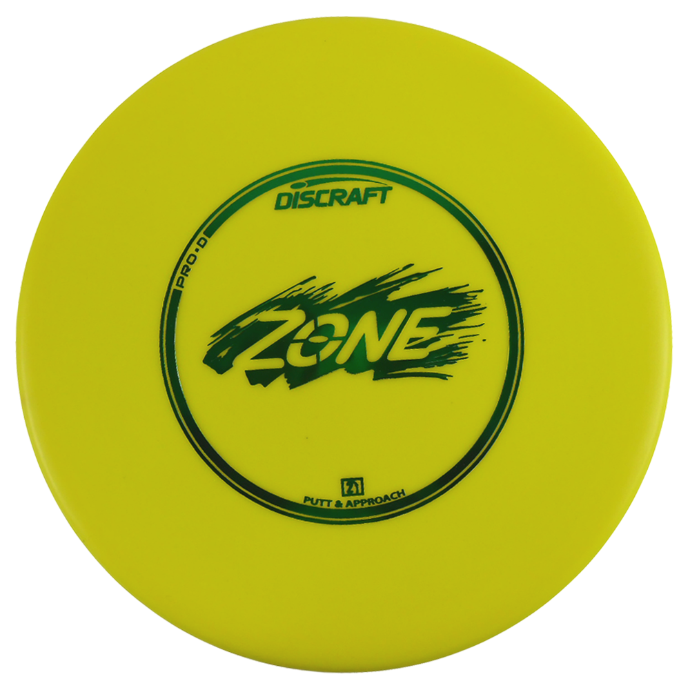 Discraft Pro D Zone 167-169g Putter Golf Disc [Colors may vary] - 167-169g