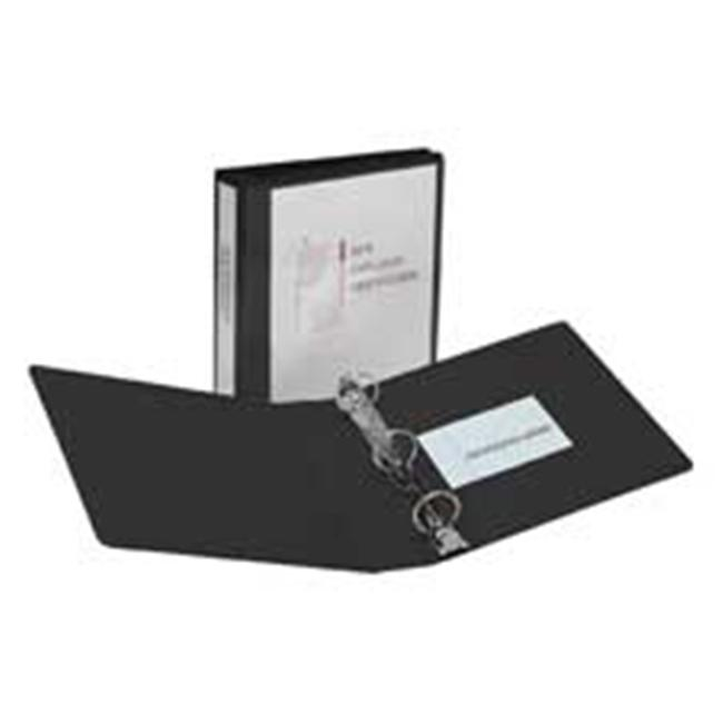 Avery Consumer Products AVE19550 Showcase View Binder- . 50inch Capacity- 11inchx8-. 50inch- Black