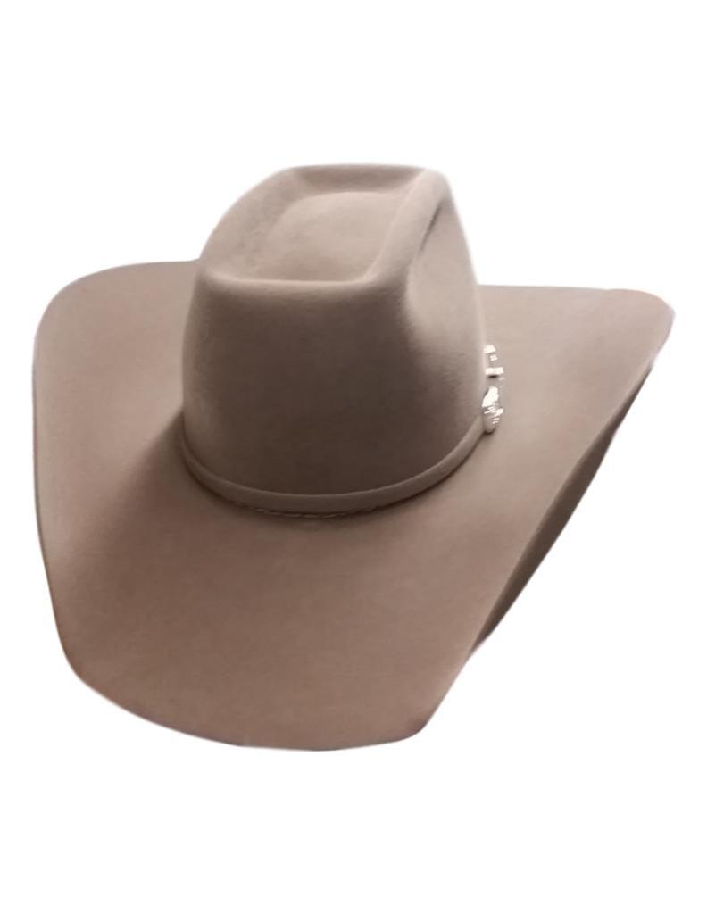 American Hat - American Cowboy Hat Mens Felt Lucky 7X Brick Crown 6-UN -  Walmart.com 302f5c61a75