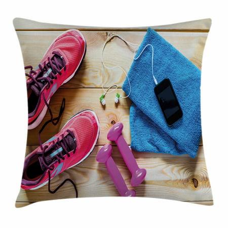 Fitness Throw Pillow Cushion Cover 07a59ba6c