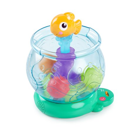 Bright Starts Funny Fishbowl Ball Popper Musical Activity - Ball Popper Toy