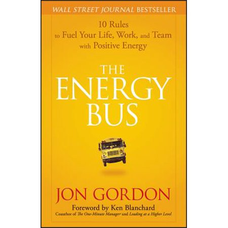 The Energy Bus (Hardcover) - Wave At The Bus
