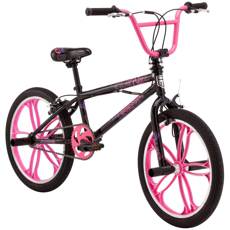"""20"""" Mongoose Craze Freestyle Girls' BMX Bike"""