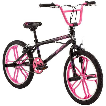 "20"" Mongoose Craze Freestyle Girls' BMX Bike by"