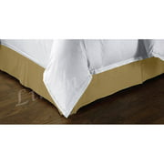 Kashi BS017511 Tailored Bed Skirt King Size - White