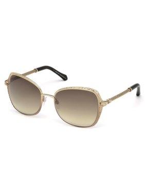 cac0d629e3 Product Image Roberto Cavalli Rectangular Sunglasses RC977S Tabit 33G Bronze  Gold Brown 977