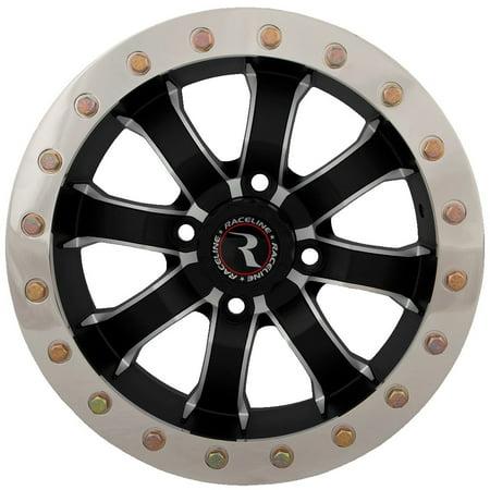 Raceline Mamba Beadlock ATV Wheel - Machined [14x7] 4/110 - (5+2)