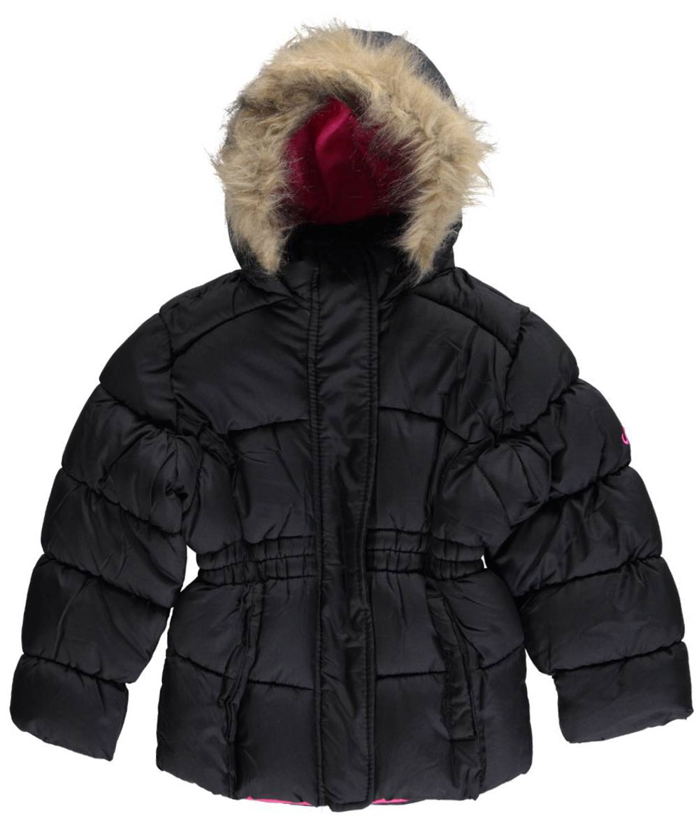 """Vertical '9 Little Girls' Toddler """"Tapered Classic"""" Insulated Jacket (Sizes 2T - 4T)"""