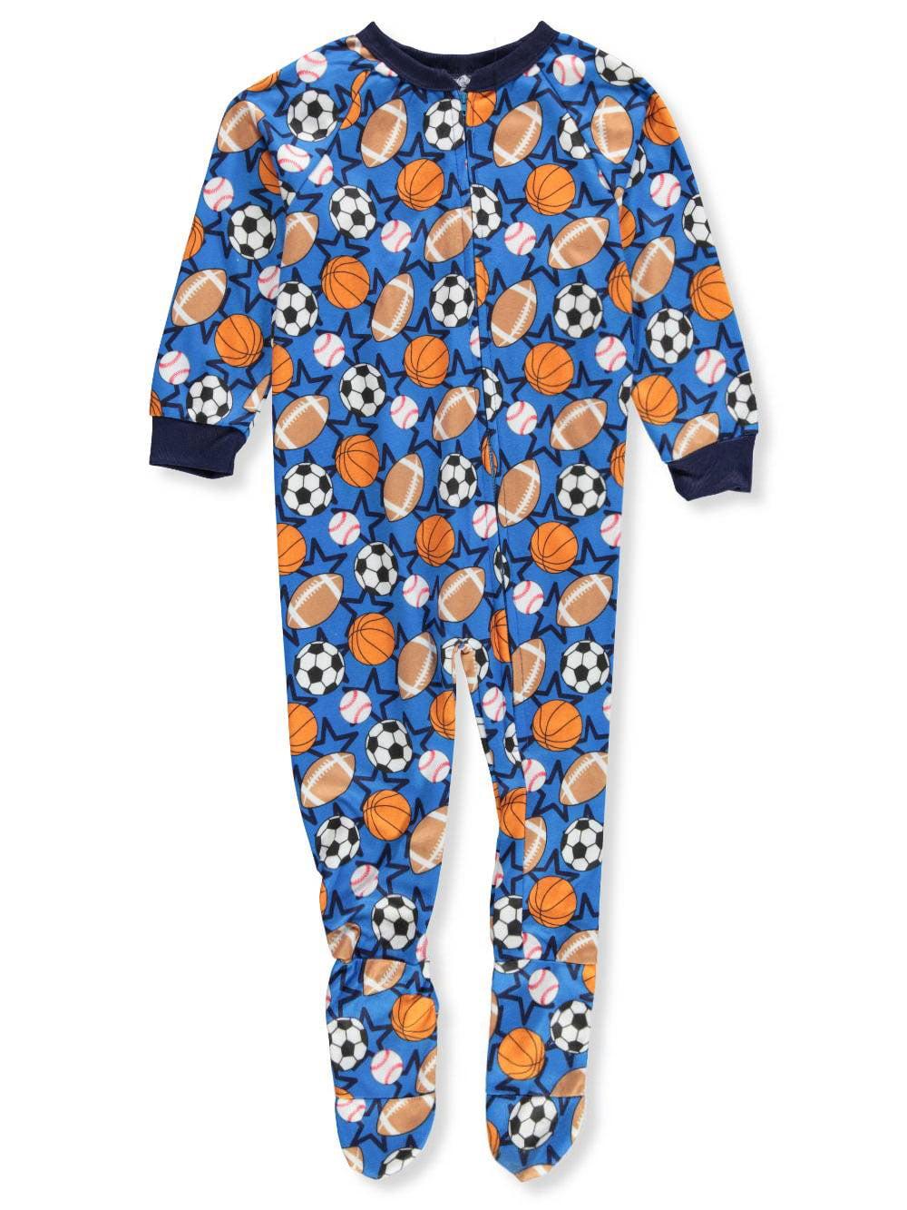 Quad Seven Boys' 1-Piece Footed Pajamas