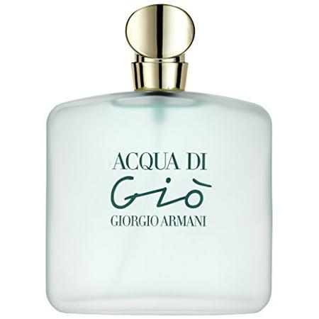 Acqua di Gio by Giorgio Armani for women Eau De Toilette Spray, 3.4 Ounces