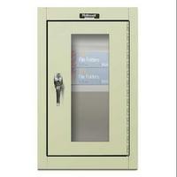 HALLOWELL 405-1626SV-PT Wall Mount Storage Cabinet,26x16,Prchmnt