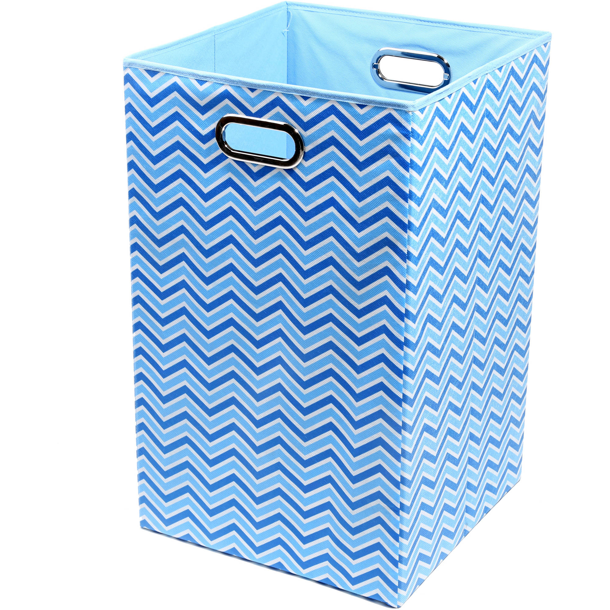 Modern Littles Sky Canvas Folding Laundry Basket (Choose Your Pattern)