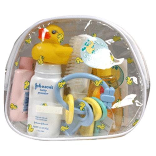 Johnson's Baby Travel Bag (10 piece) 1 ea (Pack of 6)