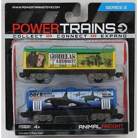 Power Trains Animal Freight Series 2 By  By Jakks Pacific